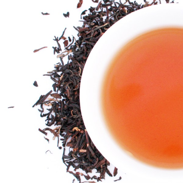 Assam Loose Leaf Black Tea Brewed