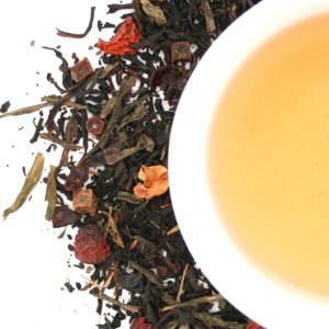 Carnival Loose Leaf Tea brewed tea