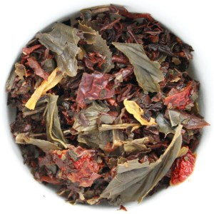 Carnival Loose Leaf Tea wet leaf