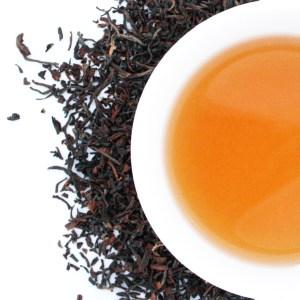 Darjeeling Loose Leaf Black Tea brewed tea
