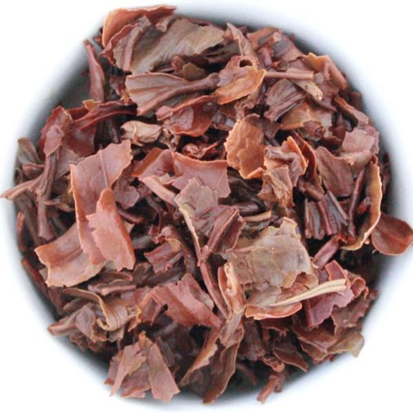 Darjeeling Loose Leaf Black Tea wet leaf