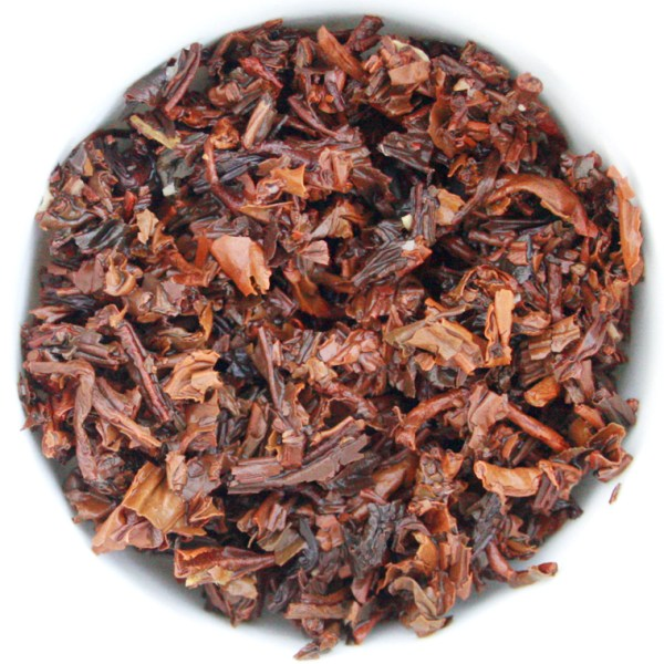 Dark Hearts Puerh Tea wet leaf