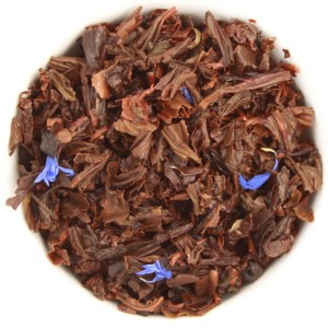 Earl Grey Loose Leaf Black Tea wet leaf