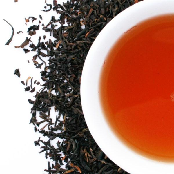 Irish Breakfast Loose Leaf Black Tea brewed tea