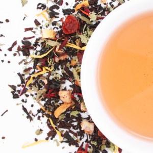 LGBTea Loose Leaf Black Tea brewed tea