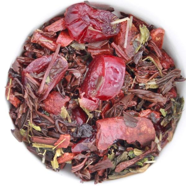 Oatmeal Cookie Loose Leaf Black Tea wet leaf