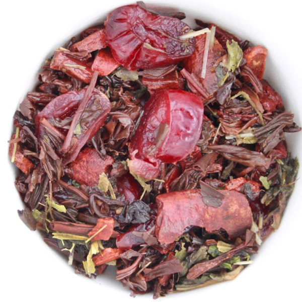 Oatmeal Cookie Loose Leaf Black Tea wet leaf