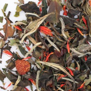 Pomegranate White Loose Leaf Tea