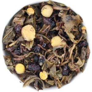Spirit of '76 Loose Leaf Green Tea wet leaf