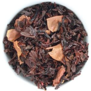 Sugardoodle Loose Leaf Black Tea wet leaf