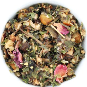Sweet Symphony Herbal Blend wet leaf