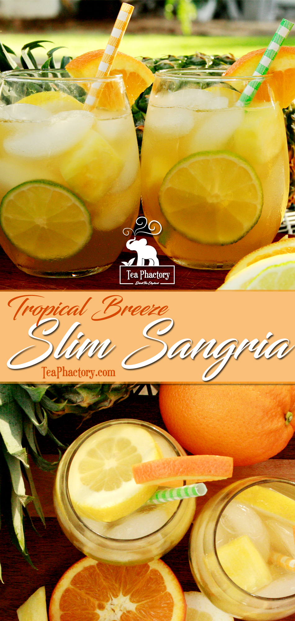 Tropical Breeze Slim Sangria CockTeas tm