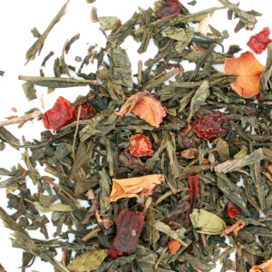 Wild Cherry Loose Leaf Green Tea