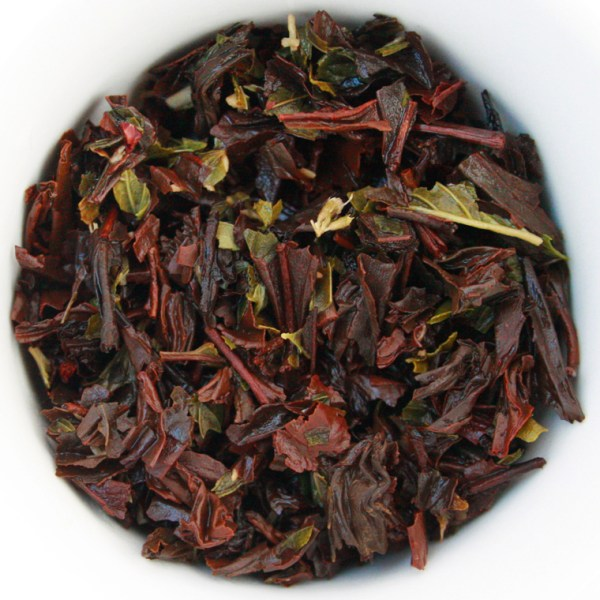 Chocolate Velvet Loose Leaf Black Tea wet leaf