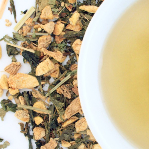 Moscow mule Loose leaf Green Tea, Brewed Tea, Small Batch Blend