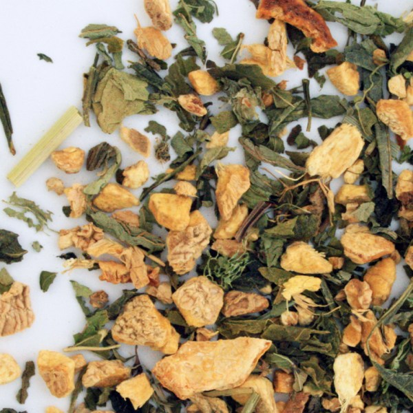 Moscow mule Loose leaf Green Tea, Small Batch Blend