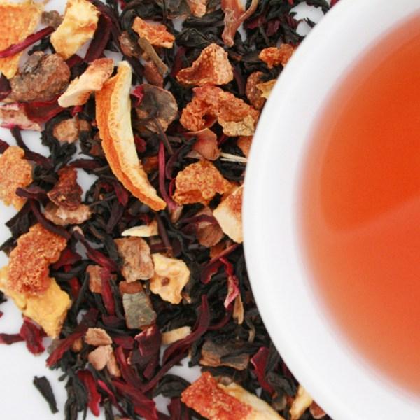 Old Fashioned Loose Leaf Black Tea, Brewed Tea, Small Batch