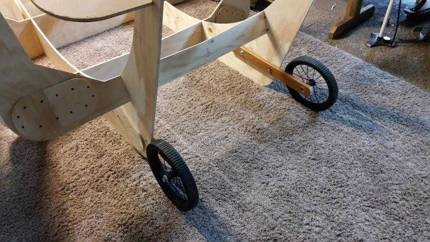 Cantilevered Frame Wheels