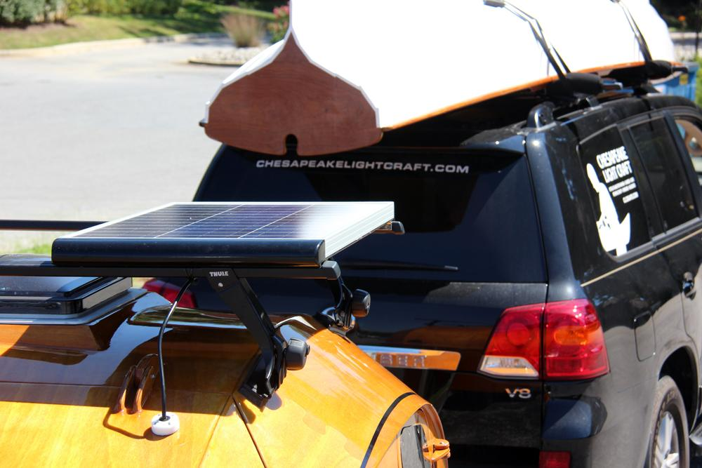 A Solar Panel For The CLC Teardrop Camper