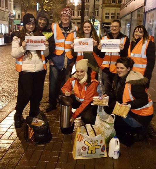 teardrops homeless charity