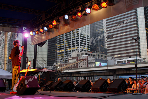 Atlas Sound at SouthStreet Seaport Music Festival