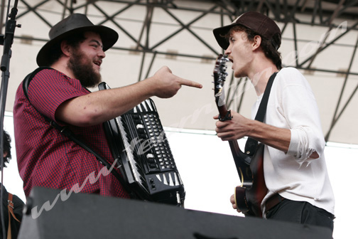Felice Brothers at Jelly NYC's McCarren Park Pool Party