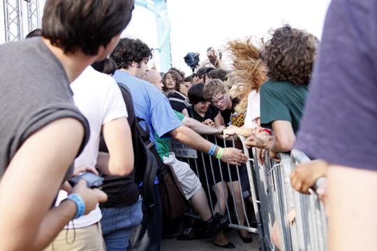 Fans, Jelly NYC, Williamsburg, Brooklyn