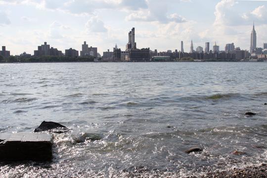 Manhattan Skyline from Williamsburg, BKLYN