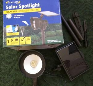 Malibu Solar Spotlight