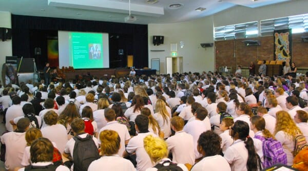 Orangutan Quest Presentation at Callaghan College