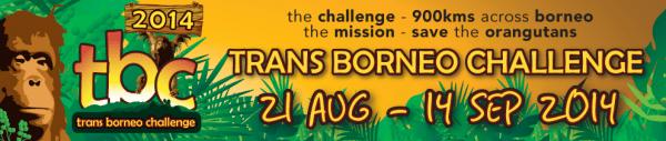 Trans Borneo Challenge 2014