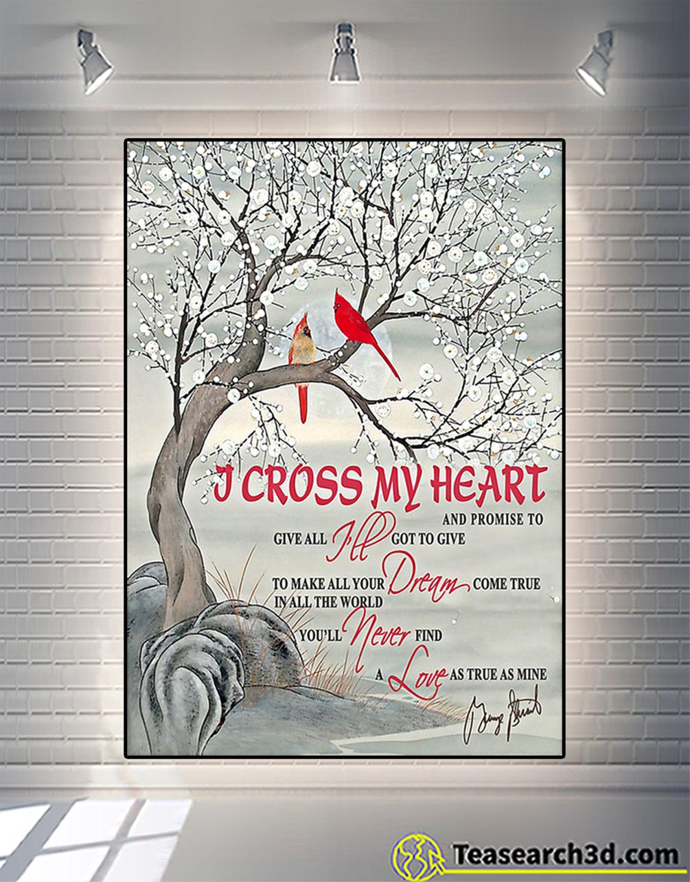 cardinal i cross my heart and promise