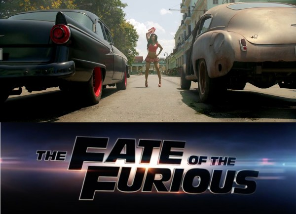 The Fate of the Furious movie - Fast 8 film