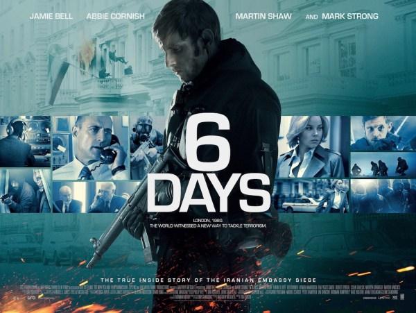 6 Days New UK Banner Poster