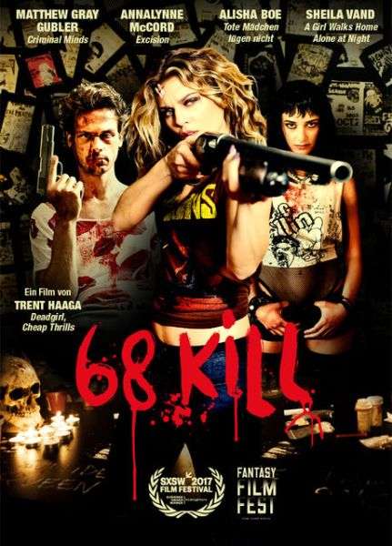68 Kill German Poster