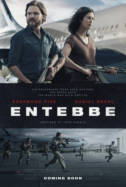 7 Days In Entebbe New Film Poster
