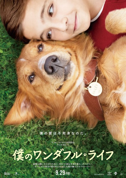 A Dog's Purpose Japanese Poster