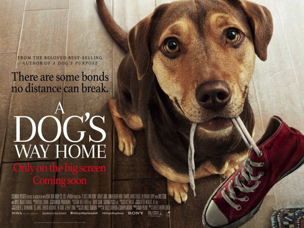 A Dog's Way Home New Film Poster