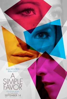 A Simple Favor New Film Poster