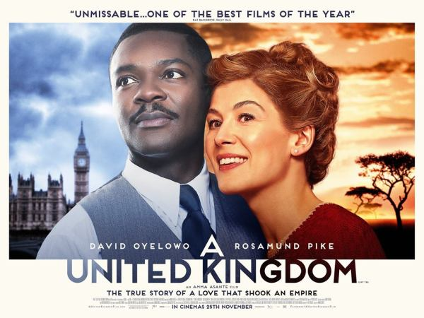 A United Kingdom Movie - New Banner Poster