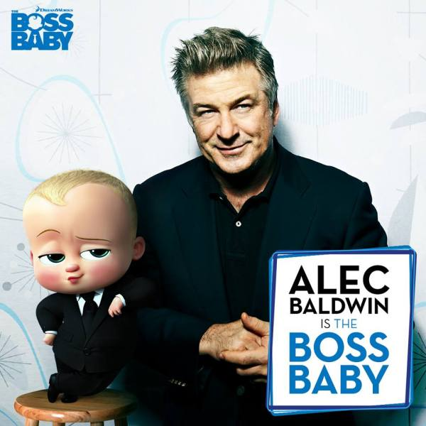 Alec Baldwin is The Boss Baby