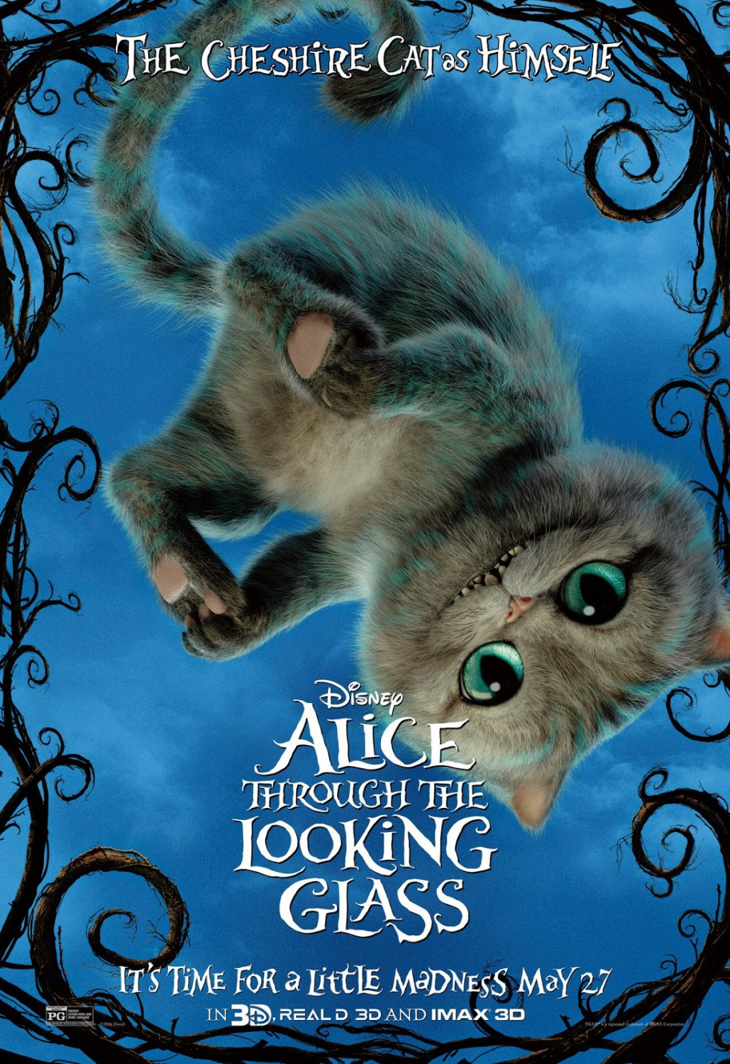 alice wonderland 2 Nineteen-year-old alice returns to the magical world from her childhood  adventure, where she reunites with her old friends and learns of her.
