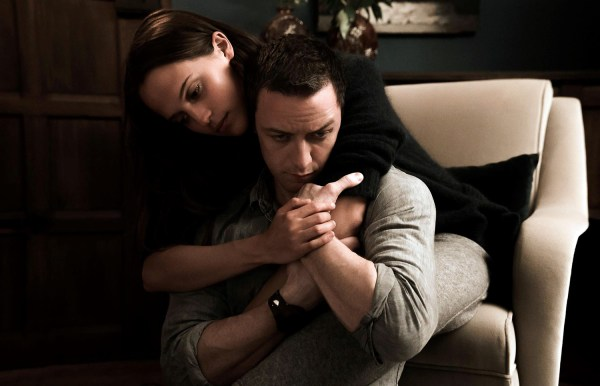 Submergence movie in 2018 - Alicia Vikander and James McAvoy