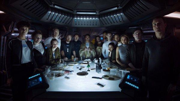 Alien Covenant Crew