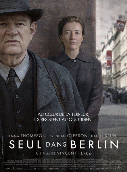 Alone In Berlin French Poster