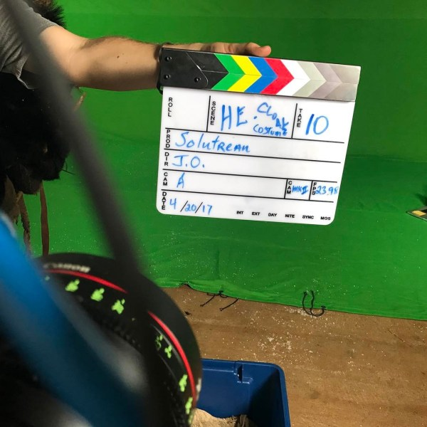 Alpha Movie Solutrean Film Clapperboard