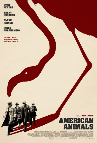 American Animals New Film Poster 2018