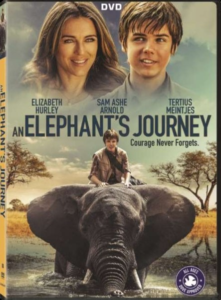 An Elephant's Journey Movie DVD Cover