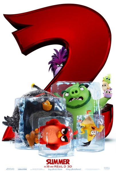 Angry Birds 2 Movie Poster