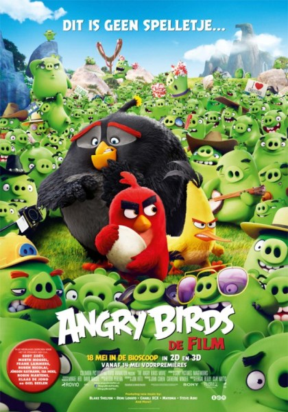 Angry Birds Dutch Poster